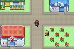 Pokemon X Y GBA Screenshot